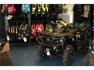 AMAZING ATV, 2017 OUTLANDER XTP TRIPLE BLACK 1000CC