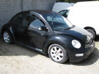 2003 VW Beetle 1.8 Turbo breaking for spares