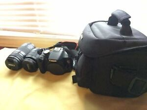 Canon EOS Rebel T5 with 18-55mm / EF75-300mm1:4-5.6III lens