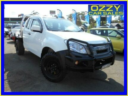2015 Isuzu D-MAX TF MY15 SX (4x4) White 5 Speed Manual Spacecab