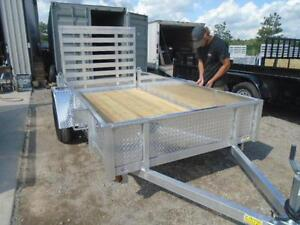 SOLID SIDED ALL ALUMINUM UTILITY TRAILER - LIGHT WEIGHT 3YR WRTY London Ontario image 3