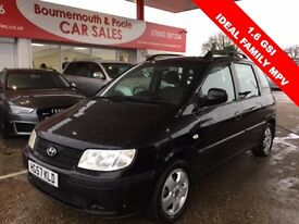 HYUNDAI MATRIX 1.6 GSI 5d 102 BHP IDEAL MPV (black) 2007