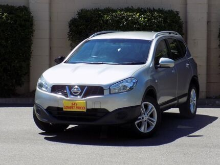 2013 Nissan Dualis J107 Series 4 MY13 +2 Hatch X-tronic 2WD ST Silver 6 Speed Constant Variable Blair Athol Port Adelaide Area Preview