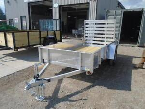 SOLID SIDED ALL ALUMINUM UTILITY TRAILER - LIGHT WEIGHT 3YR WRTY London Ontario image 2