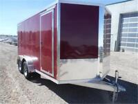 7 X 14 ALL-ALUMINUM Enclosed Trailer by Cargo Pro *TAX IN*