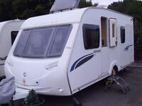 2009 Sterling Europa 470 FIXED BED 4 Berth Touring Caravan VERY CLEAN