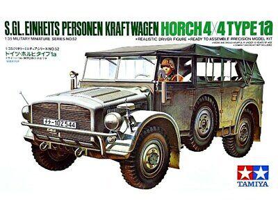 Tamiya 1/35 S.GL. Einheits Personen Kraft-Wagen Horch 4x4 Type 1a # 35052