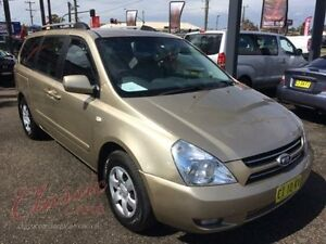 2006 Kia Carnival VQ EX Gold 4 Speed Automatic Wagon Lansvale Liverpool Area Preview
