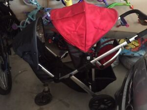 VISTA UPPAbaby stroller, with rumble seat, bassinet and board