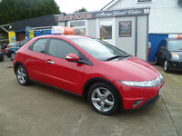 2006 HONDA CIVIC 2.2 SE I-CDTI ,,FREE 6 MONTHS RAC WARRANTY..ALL CREDIT / DEBIT CARDS ACCEPTED