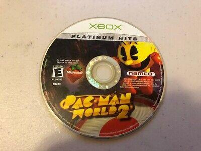 Pac-Man World 2 (Microsoft Xbox, 2002) - DISC ONLY