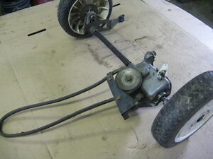 Toro Self-Propelled 3 Speed Axle Assembly