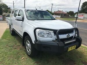 2012 Holden Colorado RG LX (4x4) White 6 Speed Automatic Crewcab Young Young Area Preview