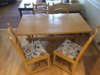 Table and chairs - can deliver