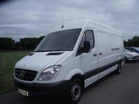 MERCEDES SPRINTER 313 CDI LWB White Manual Diesel, 2012
