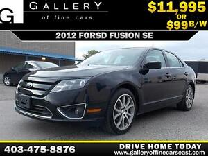 2012 Ford Fusion SE $99 bi-weekly APPLY TODAY DRIVE TODAY