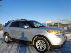 2011 FORD EXPLORER XLT-4WD-HEATED SEATS-7 PASSENGERS