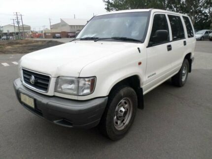 1998 Holden Jackaroo U8 SE LWB (4x4) White 5 Speed Manual 4x4 Wagon Georgetown Newcastle Area Preview