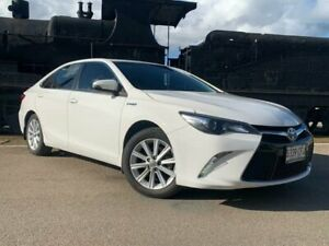 2015 Toyota Camry AVV50R Atara S White 1 Speed Constant Variable Sedan Hybrid Murray Bridge Murray Bridge Area Preview