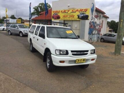2000 Holden Rodeo TF R9 LX White Automatic Utility