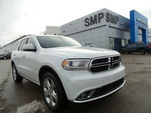 2015 Dodge Durango Limited 3.6L V6, leather, sunroof, DVD, alloy