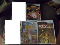 Jeux de Wii, Ds, 3ds, et gamecube a vendre