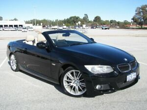 2010 BMW 330d E93 MY11 Steptronic Black 6 Speed Sports Automatic Convertible Maddington Gosnells Area Preview