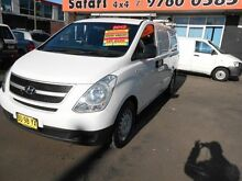 2013 Hyundai iLOAD TQ MY13 White 5 Speed Automatic Van Clyde Parramatta Area Preview