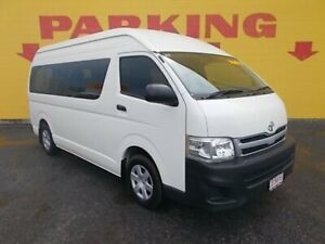 2013 Toyota HiAce KDH223R MY12 Commuter High Roof Super LWB White 5 Speed Manual Bus Winnellie Darwin City Preview