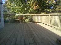 We build decks,fences & walkways for a fraction of the cost!