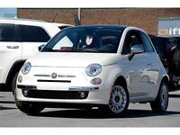 2012 FIAT 500 Lounge CUIR TOIT **JAMAIS ACCIDENTÉ 1 SEUL PROPRIO