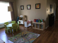 Child Care Available - Full and Part Time
