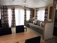 Sunnyvale Caravan Park,Kinmel Bay,Waves 4-Platinum 2 bed Caravan for hire.Price dependent on date.