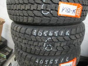 3 ONLY 205/65R16 DEAN SNOW TIRES LIKE NEW