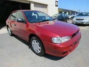 1997 Subaru Impreza GX Maroon 4 Speed Automatic Hatchback Werribee Wyndham Area Preview