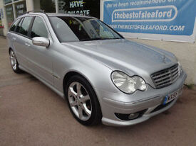 Mercedes-Benz C200 2.1TD auto 2006 Sport Edition Leather S/H