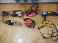 Misc power tools MOVING SALE
