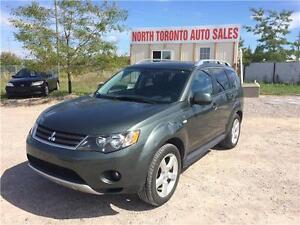 2009 MITSUBISHI OUTLANDER XLS - 4WD - LEATHER - SUNROOF - 7 PASS