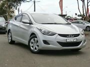 2012 Hyundai Elantra MD Active Silver 6 Speed Sports Automatic Sedan Condell Park Bankstown Area Preview