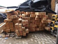 Approximately 100 Lengths of Timber - Collection Only