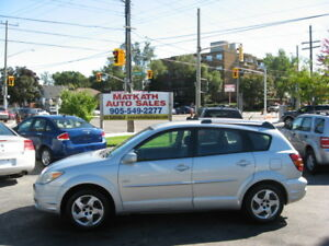 **2005 Pontiac Vibe** 5 speed Manual, Cert & E-tested