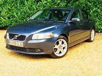 Volvo S40 D5 SE LUX 2.4 Manual 2008 Blue Reduced Price ?4464 Ono