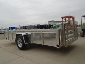 14' ALUMINUM UTILITY TRAILER -LIGHT WEIGHT AND BUILT TO LAST!! London Ontario image 2