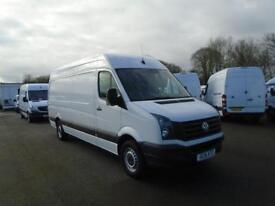 Volkswagen Crafter CR35 LWB 2.0 TDI 136 PS HIGH ROOF EURO 5 DIESEL WHITE (2016)
