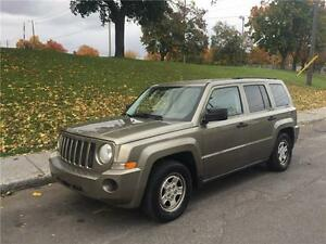 2008 JEEP PATRIOT , AUTOMATIQUE, AIR CLIMATISE, 4 CYLINDRE