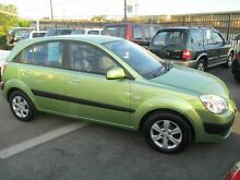 2009 Kia Rio JB LX Green 5 Speed Manual Hatchback Coopers Plains Brisbane South West Preview