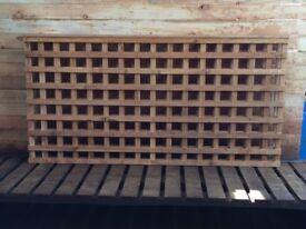 Square Trellis Fencing Panels