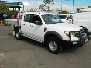 2009 Ford Ranger PK XL Crew Cab White 5 Speed Manual Cab Chassis Archerfield Brisbane South West Preview