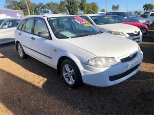 2000 Mazda 323 BJ Astina White 4 Speed Automatic Hatchback Minchinbury Blacktown Area Preview