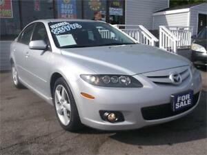 2006 MAZDA MAZDA6 GS * POWER SEATS * LOADED WITH OPTIONS *